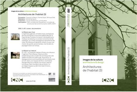 Images de la culture : Architectures de l'habitat (3/5) - catalogue général